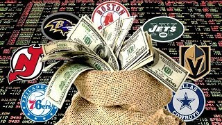 Sports Betting Deals with Leagues & Teams