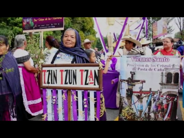 Tianguis Artesanal de Domingo de Ramos Uruapan 2017