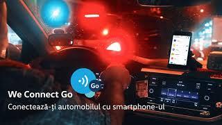 Vino în service și conectează-te online la gama de servicii oferite de aplicația We Connect Go
