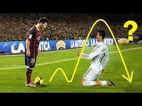 5 Times Lionel Messi Humiliated Cristiano Ronaldo When Messi Makes Ronaldo Disappear Hd Youtube