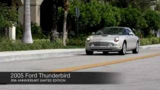 2005 Ford Thunderbird 50th Anniversary Limited Edition Hardtop Convertible Community Auto Sales