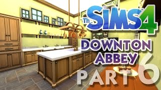 The Sims 4 House Building: Downton Abbey / Highclere Castle - Part 6 - (Real Time)