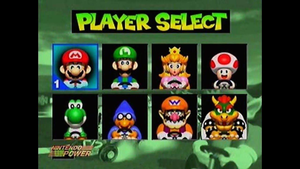 JUEGOS CANCELADOS Super Mario Kart R N64 64 BETA Loquendo YouTube