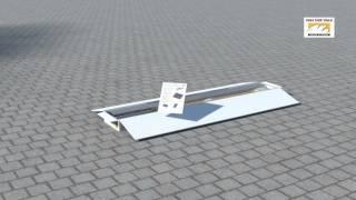 Youen en ValkBox 1-2 (NL) voor de installatie van zonnepanelen op een schuin dak.