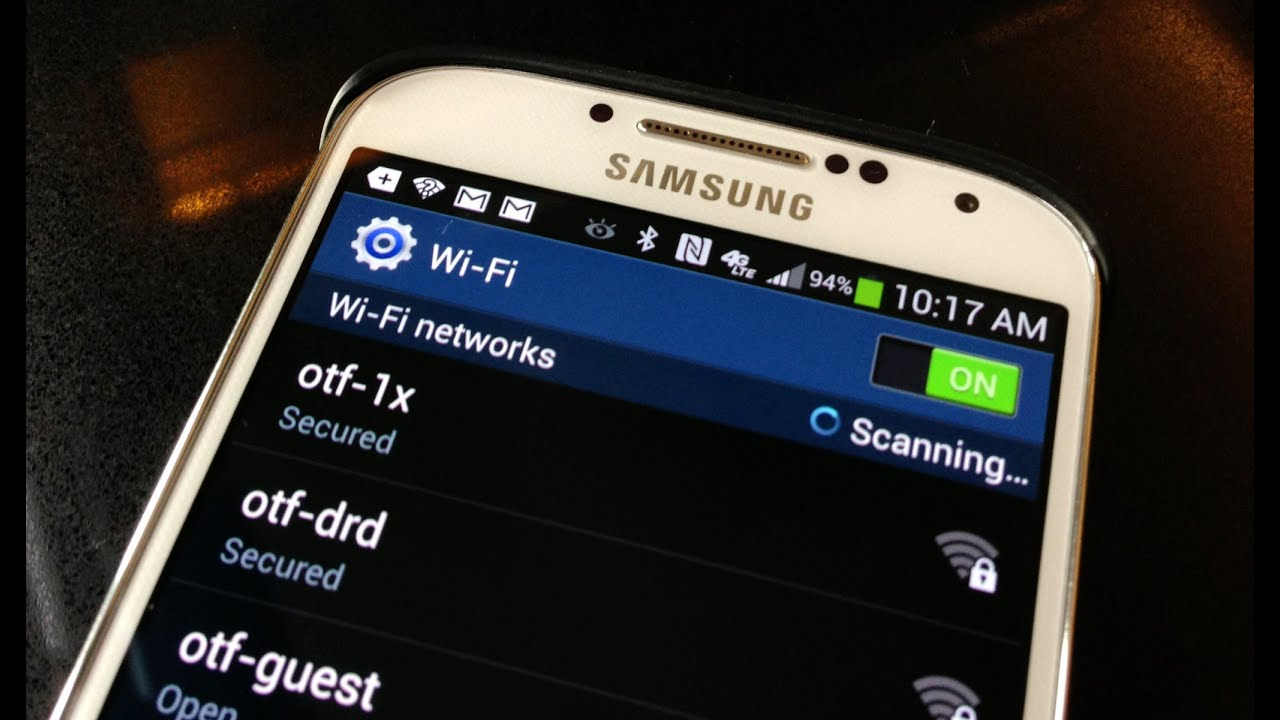 How to connect Samsung to WiFi