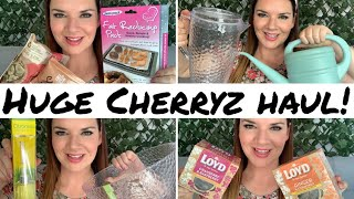 AD | Huge Cherryz Bargain Haul | Home Decor Haul | Cleaning Products | Food Haul | Kate McCabe