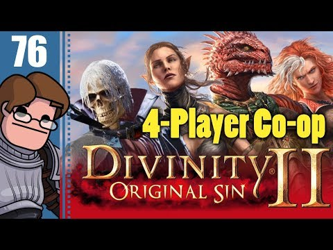 Let's Play Divinity: Original Sin 2 Four Player Co-op Part 76 - Lone Wolves' Sawmill