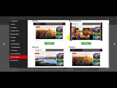 Free Download Newspaper Responsive News, Magazine and Blog CMS Script