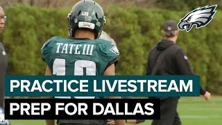 Carson Wentz & Golden Tate Live from Practice in Week 10 | Eagles Livestream