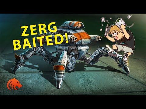 StarCraft 2: Crazy Widow Mine Shots & Game Analysis!