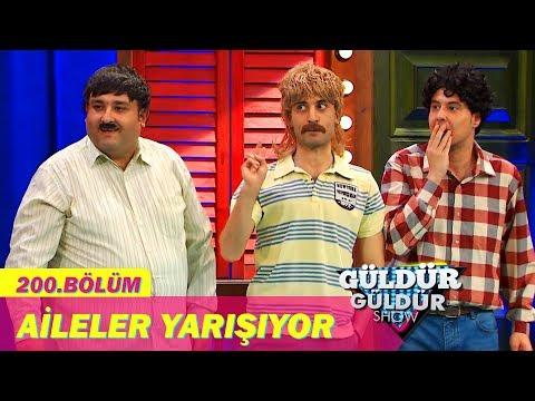Güldür Güldür Show 200.Bölüm - Aileler Yarışıyor