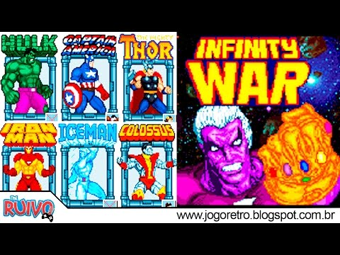 Marvel Infinity War: The Game (74 CHARACTERS) OpenBOR 2017