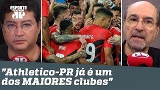 """""""Aceitem: o Athletico-PR já é um dos MAIORES clubes do Brasil!"""" Veja DEBATE!"""