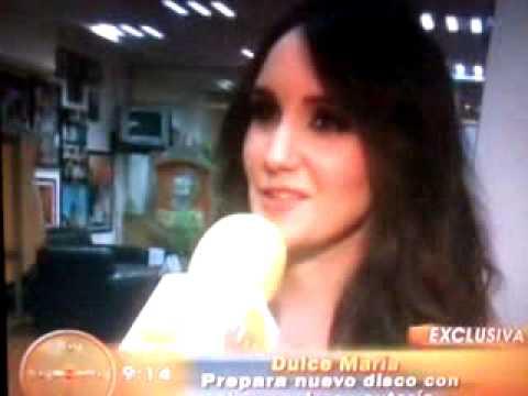 #Video @DulceMaria en el programa Hoy (23.05.13)