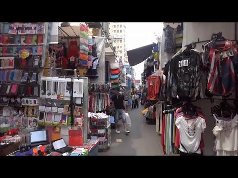 Hong Kong, Ladys Market, Kowloon