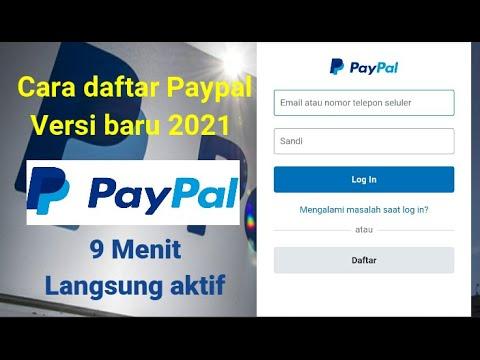 Cara Mendaftar Paypal Versi Baru Cepat Dari Android 9 Menit Langsung Jadi + Aktif