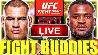 UFC FIGHT NIGHT NGANNOU VS VELASQUEZ VICK VS FELDER LIVE FIGHT REACTION!