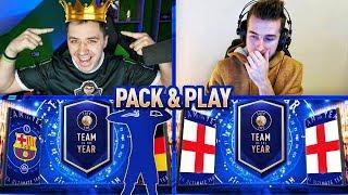 🔥 Jestem KRÓLEM PACK & PLAY! 👑 *WALKOUT* FIFA 19 / (ft. ADRYAN)