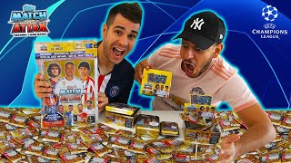 COMPLETANDO el ÁLBUM de la CHAMPIONS LEAGUE con ROBERT PG | Topps Match Attax 19/20