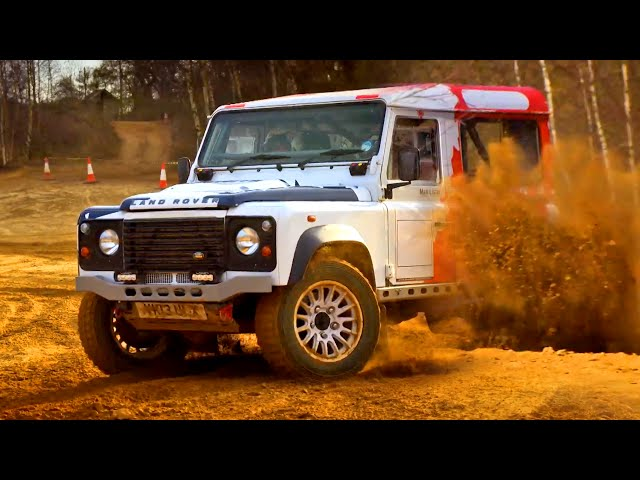 Rally Land Rover Defender - Fifth Gear
