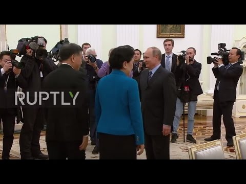 Russia: Putin touts Sino-Russian ties in Moscow meeting with Chinese premier