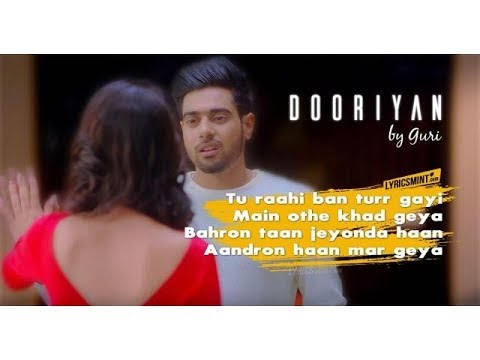 "Lyrics of ""Dooriyan"" By Guri Punjabi Song"
