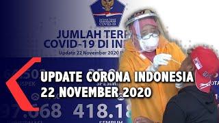 Update Corona 22 November: 497.668 Positif, 418.188 Sembuh, 15.884 Meninggal Dunia  .