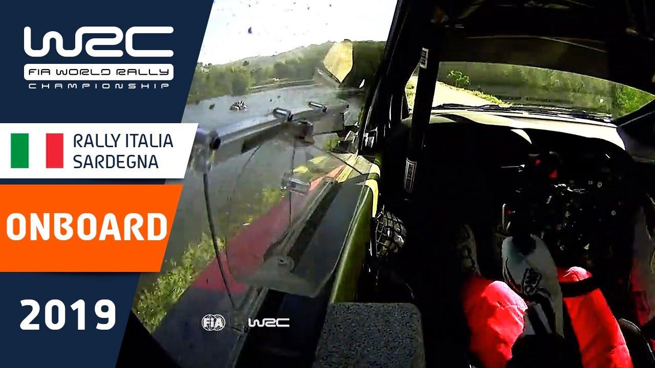 WRC - Rally Italia Sardegna 2019: ONBOARD Tänak SS15