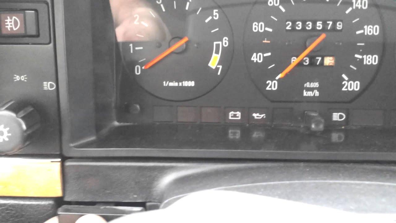 Volvo 240 No Dash Light