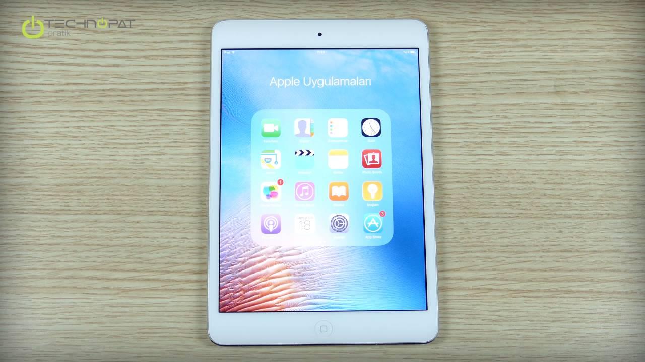 iPad için iOS 10 Kurulum Rehberi