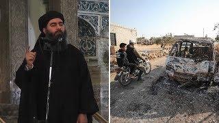 Aftermath of raid on Isil leader Abu Bakr al-Baghdadi