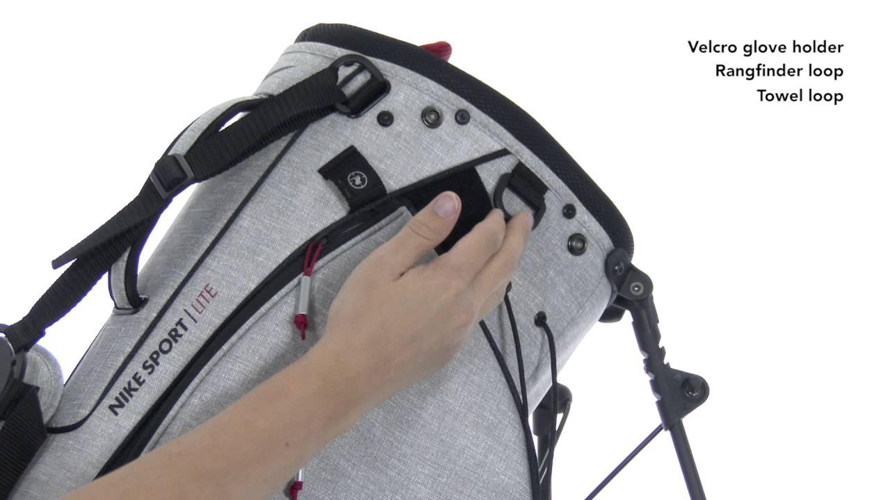 Nike Sport Lite II Stand Bag - YouTube 74b8ba28ed