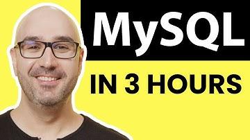 MySQL Tutorial for Beginners [Full Course]