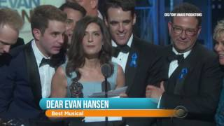 Tony Awards Review: Dear Evan Hansen Wins Best Musical