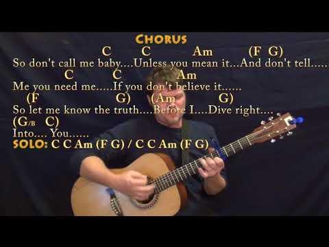 Dive (Ed Sheeran) Strum Guitar Cover Lesson with Chords/Lyrics - Capo 4th