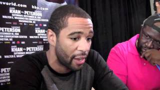 Boxing: Lamont Peterson Talks Amir Khan, Fighting in Washington, DC