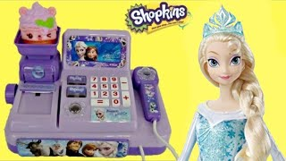 FROZEN Cash Register with Olaf, Princess Anna & Queen Elsa Toys