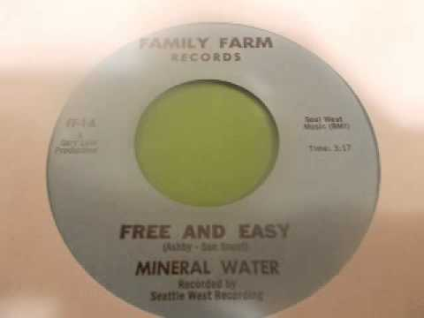 Mineral Water-Free And Easy (1970)