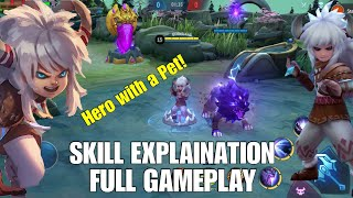 MLBB New Hero: Popol and Kupa - Icefield Companions | Skill Explanation and Gameplay!
