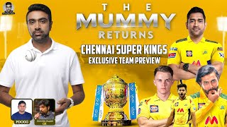 Chennai Super Kings: EXCLUSIVE TEAM PREVIEW | The Mummy Returns: Homecoming #CSK #IPL2021 | R Ashwin