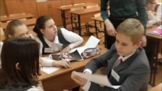Саушкина Н.К., урок английского языка в 7 классе