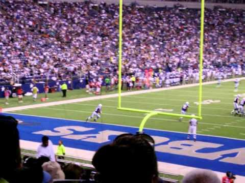 2007 Dallas Cowboys vs. Indianapolis Colts Preseason: Another Kickoff