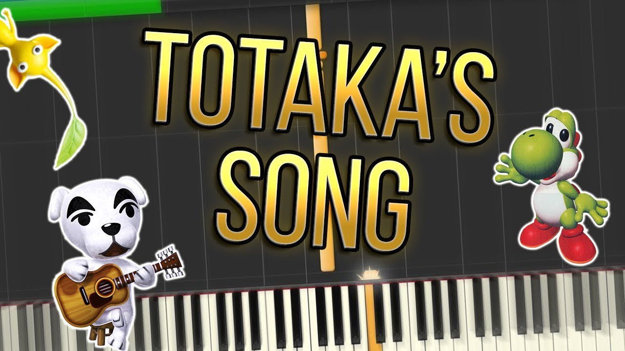 Totaka's Song Piano Tutorial Synthesia