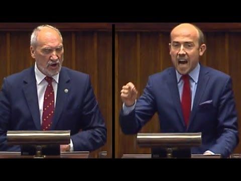 Budka vs. Macierewicz o reformie SN (krzyki, wyzwiska, awantura!)