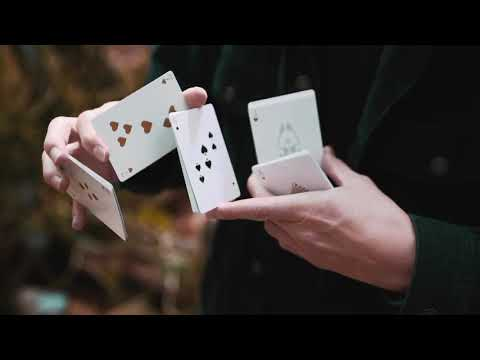 Whirl Playing Cards by Jerome Luginbühl
