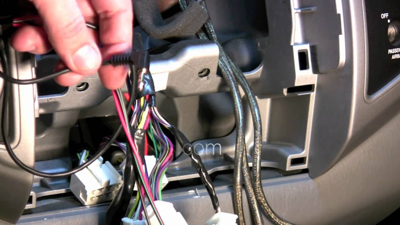 maxresdefault crutchfield wiring harness toyota sequoia 2002 with amplifier 2002  at gsmx.co