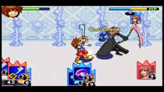 Kingdom Hearts Chain of memories [Gba] part 21- Vs Marluxia Scythe is awesome