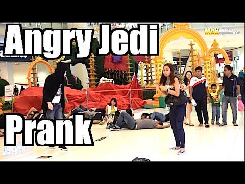 Star Wars: The Force Awakens Jedi Prank - Maxmantv