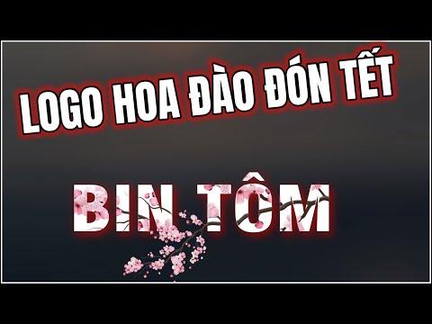 Hướng Dẫn Làm Logo Việt Mix Hoa Đào Đón Tết