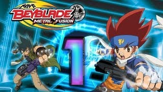 Beyblade: Metal Fusion - Battle Fortress (Wii) Walkthrough Part 1